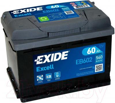 Автомобильный аккумулятор Exide Excell EB602