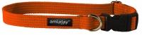 Ошейник Ami Play Cotton (M, оранжевый) -