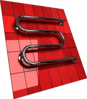 Полотенцесушитель водяной Двин M без полочки 55x60 (1