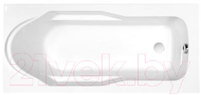 Фото - Ванна акриловая Cersanit Santana 160x70 акриловая ванна roca genova n 160x70 zru9302973