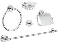 Набор аксессуаров для ванной и туалета GROHE Essentials 40344001 -