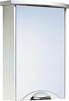 Шкаф с зеркалом для ванной Aqwella Ультра Люкс 50 / Ul-l.04.05.G -