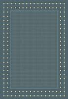 Циновка Balta Fondo 4840/033 (80x200, синий) -