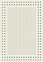 Циновка Balta Fondo 4840/060 (140x200, белый/черный) -
