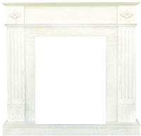 Портал для камина Смолком Brighton STD/EUG (белый дуб) -