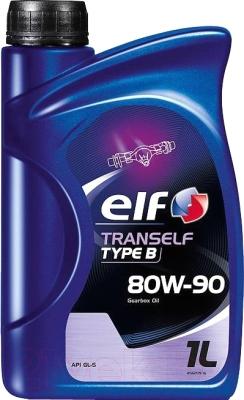 Трансмиссионное масло Elf Tranself Type B 80W90 / 194747 (1л)