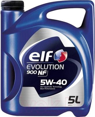 Моторное масло Elf Evolution 900 NF 5W40 194872/213908 (5л)