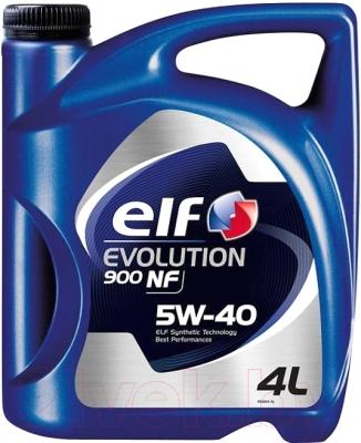 Моторное масло Elf Evolution 900 NF 5W40 / 194873 (4л)