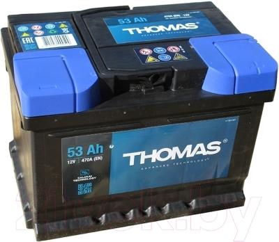 Автомобильный аккумулятор THOMAS Низкий R+