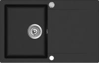Мойка кухонная Teka Clivo 45 B-TQ / 40148000 (оникс) -