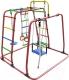 Детский спортивный комплекс Формула здоровья Игрунок-Т Плюс (красный/радуга) -