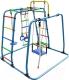 Детский спортивный комплекс Формула здоровья Игрунок-Т Плюс (голубой/радуга) -