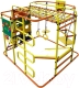 Детский спортивный комплекс Формула здоровья Мурзилка-S (оранжевый/радуга) -