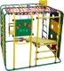 Детский спортивный комплекс Формула здоровья Кубик-У Плюс (зеленый/радуга) -