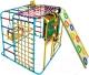 Детский спортивный комплекс Формула здоровья Кубик-У Плюс (голубой/радуга) -