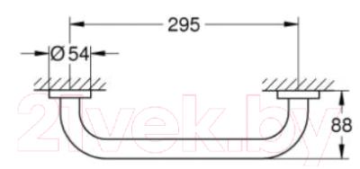 Комплект ручек для ванны GROHE Essentials 40421001