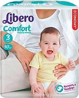 Подгузники детские Libero Comfort 3 (90шт) -