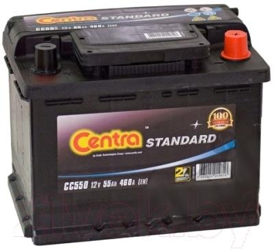 Автомобильный аккумулятор Centra Standard CC550