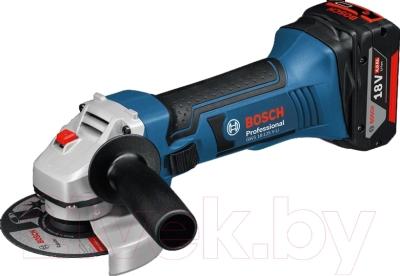 Профессиональная угловая шлифмашина Bosch GWS 18-125 V-LI Professional (0.601.93A.307)