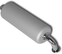 Подголовник для ванны Riho AH01 UNI (серебристый) -