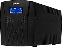 ИБП Sven Pro 1500 (LCD, USB) -
