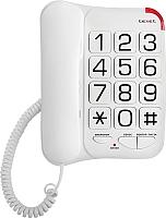 Проводной телефон Texet TX-201 (белый) -