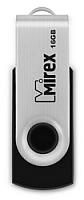 Usb flash накопитель Mirex Swivel Rubber Black 16GB (13600-FMURUS16) -