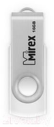 люстра nowodvorski 6545 swivel white Usb flash накопитель Mirex Swivel White 16GB / 13600-FMUSWT16