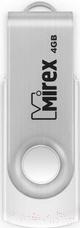 люстра nowodvorski 6545 swivel white Usb flash накопитель Mirex Swivel White 4GB / 13600-FMUSWT04