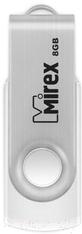 люстра nowodvorski 6545 swivel white Usb flash накопитель Mirex Swivel White 8GB / 13600-FMUSWT08