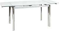 Обеденный стол Signal GD018 (белый) -