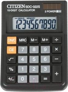 Калькулятор Citizen SDC-022 S