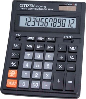 Калькулятор Citizen SDC-444 S