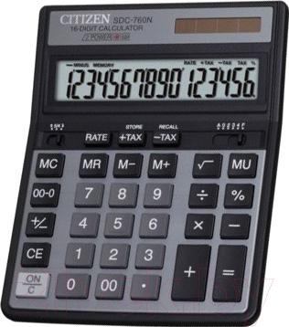 Калькулятор Citizen SDC-760 N