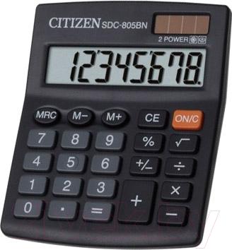 Калькулятор Citizen SDC-805 BN