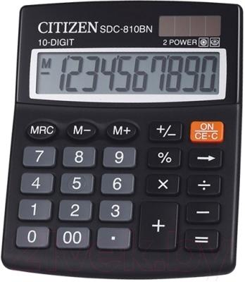 Калькулятор Citizen SDC-810 BN
