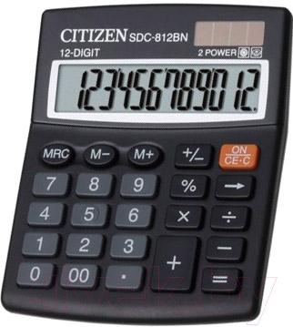 Калькулятор Citizen SDC-812 BN
