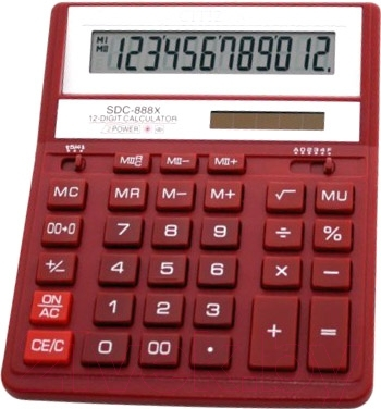 Калькулятор Citizen SDC-888 XRD