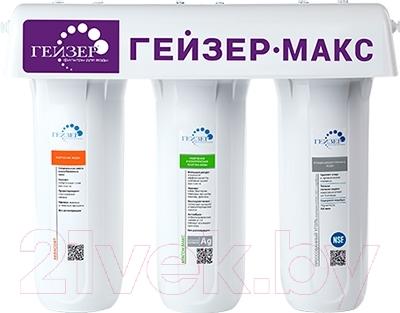 Фото - Фильтр питьевой воды Гейзер Макс фильтр для воды гейзер смарт макс белый 16030