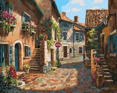 Картина по номерам Picasso Итальянские улочки (PC4050079)