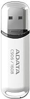 Usb flash накопитель A-data C906 16Gb White (AC906-16G-RWH) -