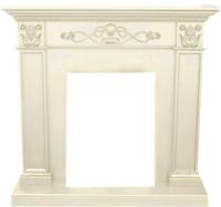 Портал для камина Смолком Verona Corner STD (белый дуб) -