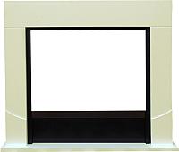 Портал для камина Смолком Luton FS33/FS33W/L33 (белый/ваниль) -