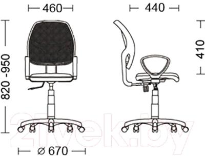 Кресло офисное Nowy Styl Alfa GTP (OH/5 FJ-6 Q)
