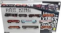 Железная дорога игрушечная Big Motors Rail King 19033-8 -