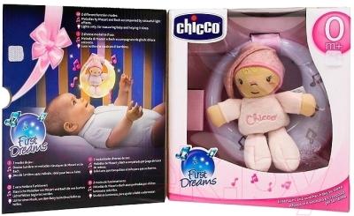 Музыкальная подвеска Chicco Луна 24261 (розовый)