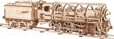 Сборная модель Ugears Локомотив 70012
