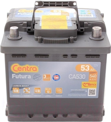 Автомобильный аккумулятор Centra Futura CA530