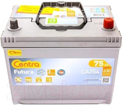 Автомобильный аккумулятор Centra Futura CA754