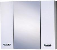 Шкаф с зеркалом для ванной Акваль София 80 / ES.04.80.00.N -